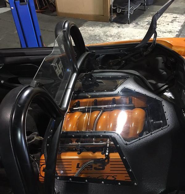 Custom Ls3 Engine cover